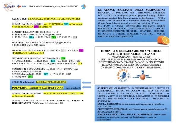 2016_01_14 Programma Allenamenti-Partite
